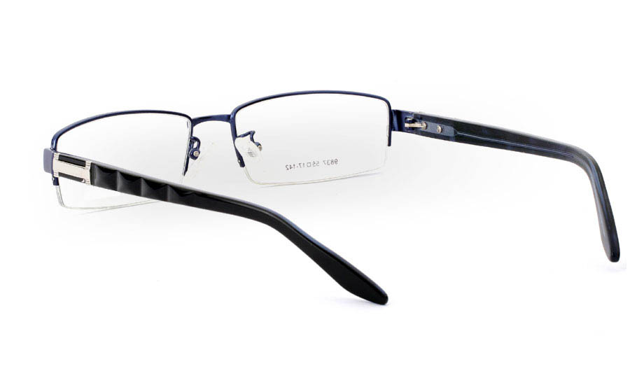 9837 Monel Half Rim Mens Optical Glasses