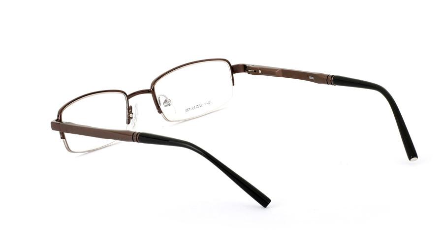 Vista First 1040 Aluminum Half Rim Mens Optical Glasses