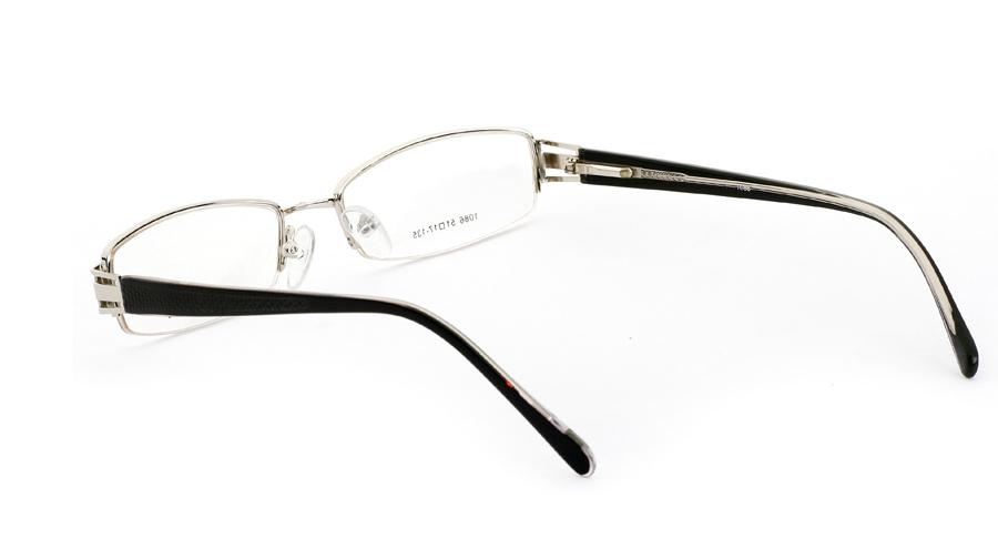 Vista First 1086 Stainless Steel/ZYL Mens&Womens Half Rim Optical Glasses