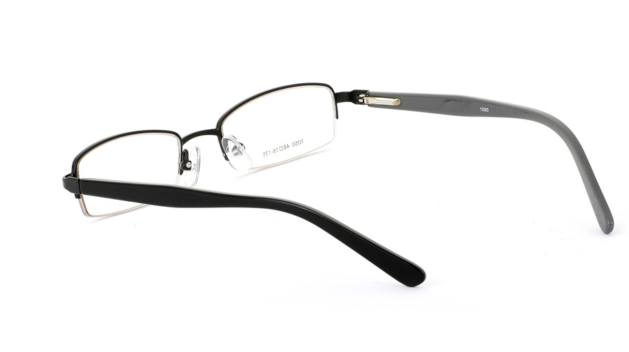 Vista First 1050 Stainless Steel/ZYL Mens&Womens Half Rim Optical Glasses