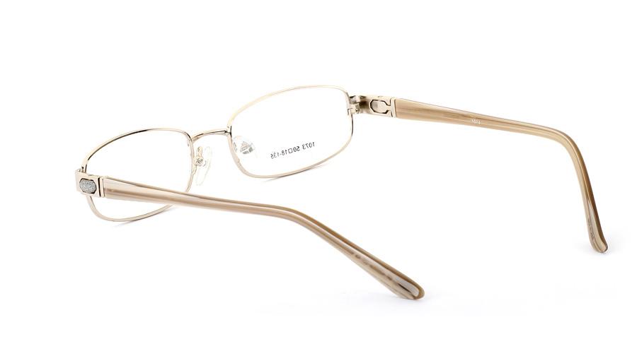Vista First 1073 Stainless Steel/ZYL Full Rim Womens Optical Glasses