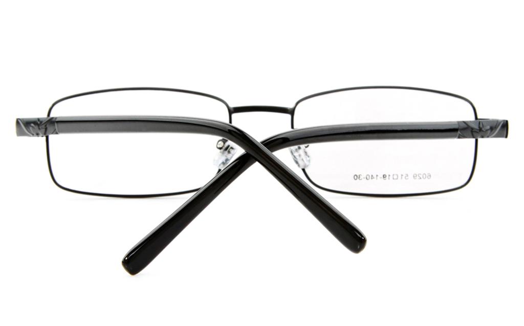 Poesia 6029 Stainless Steel Mens&Womens Full Rim Optical Glasses