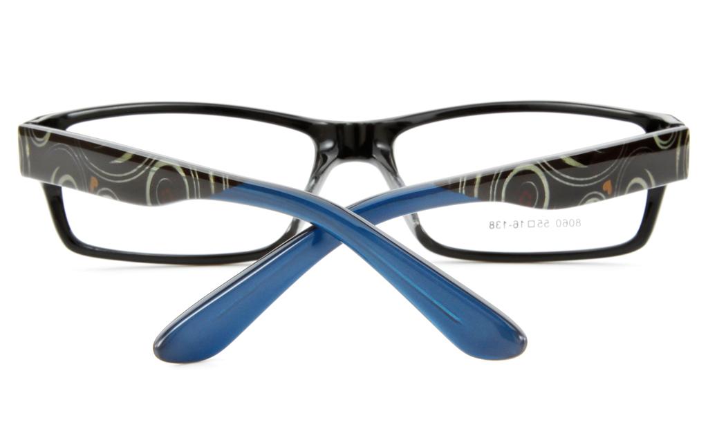 8060 Acetate(ZYL) Mens&Womens Full Rim Square Optical Glasses
