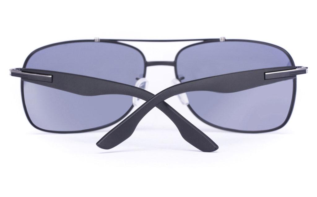 Vista Sport P1302 Stainless Steel Mens Oval Full Rim Sunglasses