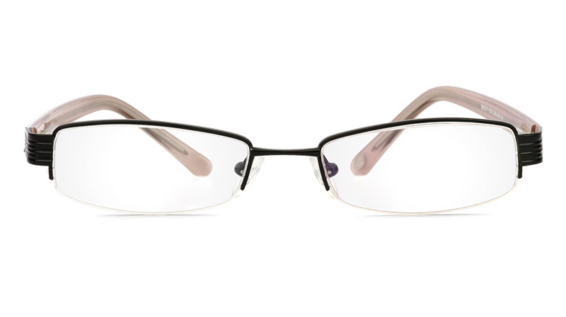 Vista First 1087 Stainless Steel/ZYL Mens&Womens Half Rim Optical Glasses