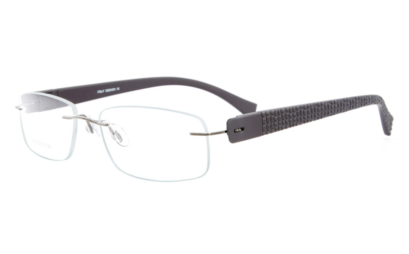 Vista First 5018 Rimless Stainless Steel Man & Woman Optical Glasses
