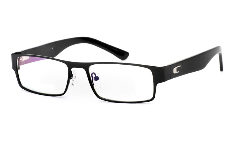 6129 Stainless Steel Full Rim Mens Optical Glasses