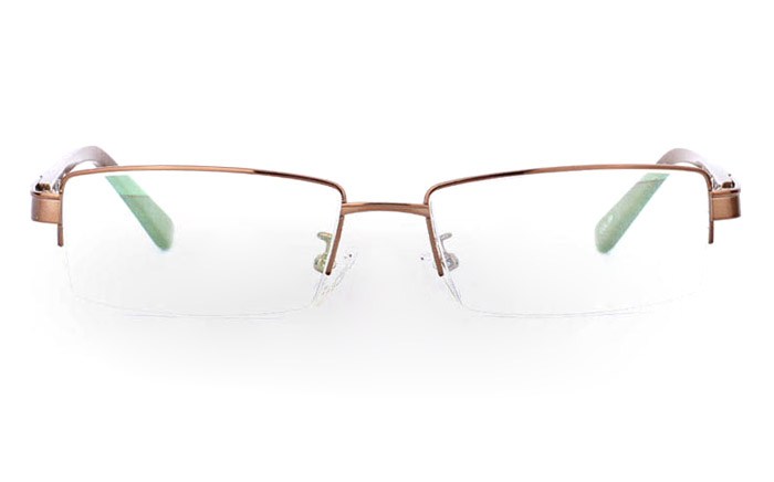 9871 Monel Half Rim Mens Optical Glasses
