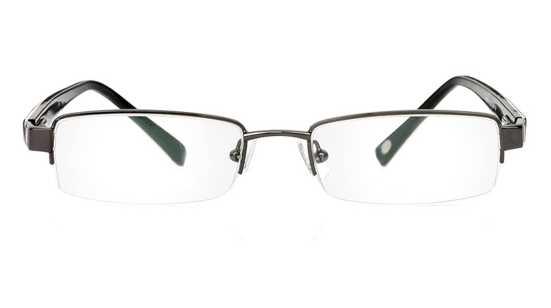 Vista First 1051 Stainless Steel Semi-rimless Womens Optical Glasses