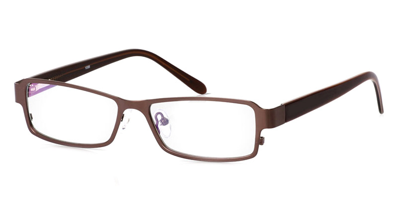 Vista First 1056 Stainless Steel/ZYL Full Rim Mens Optical Glasses