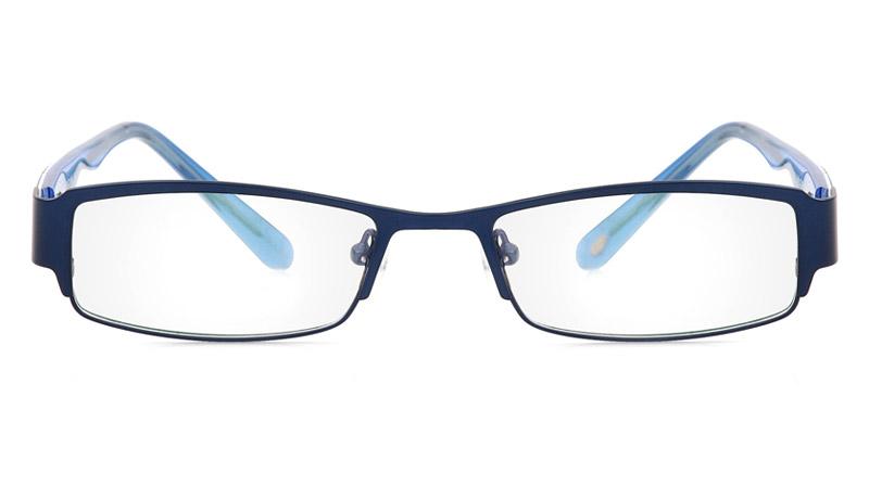 Vista First 1080 Stainless Steel/ZYL Full Rim Mens Optical Glasses