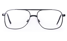 Poesia D11 Stainless Steel Mens Full Rim Optical Glasses for Fashion,Classic,Nose Pads Bifocals