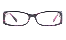 Vista First 0870 Acetate(ZYL) Womens Full Rim Optical Glasses for Fashion,Classic,Party,Sport,Wood Bifocals