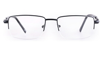 Poesia 6655 Stainless steel/PC Mens Semi-rimless Optical Glasses