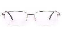 Vista First 8904 Stainless steel/ZYL Mens Semi-rimless Optical Glasses
