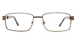 Poesia 6070 Stainless Steel Mens Full Rim Optical Glasses