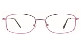 Poesia 6673 Stainless Steel Womens Full Rim Optical Glasses for Fashion,Classic,Nose Pads Bifocals