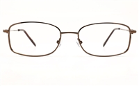 Poesia 6673 Stainless Steel Womens Full Rim Optical Glasses