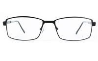 Poesia 6676 Stainless Steel Mens Full Rim Optical Glasses