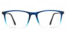 Poesia 7024 TR90/ALUMINUM Mens   Womens Full Rim Optical Glasses for Fashion,Classic,Nose Pads Bifocals