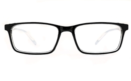 Poesia 3137 Polycarbonate(PC) Mens Full Rim Optical Glasses for Fashion,Classic,Nose Pads Bifocals