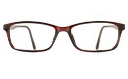 Poesia 7021 TR90/ALUMINUM Womens Full Rim Optical Glasses for Fashion,Classic,Nose Pads Bifocals