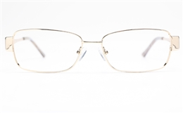 Vista First 8827 Stainless steel/ZYL Womens Full Rim Optical Glasses for Fashion,Classic,Party,Nose Pads Bifocals