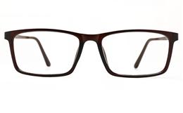 Poesia 7022 TR90/ALUMINUM Mens Full Rim Optical Glasses for Fashion,Classic,Nose Pads Bifocals