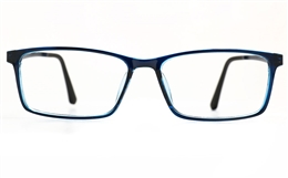 Poesia 7023 TR90/ALUMINUM Mens Full Rim Optical Glasses for Fashion,Classic,Nose Pads Bifocals