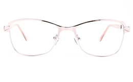 Poesia 6067 Stainless Steel Womens Full Rim Optical Glasses for Fashion,Classic,Nose Pads Bifocals