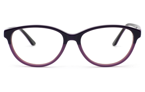 Two Tone Oval glasses