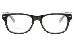 F011 Acetate(ZYL) Mens Womens Full Rim Wayfarer Optical Glasses for Fashion,Classic,Party Bifocals