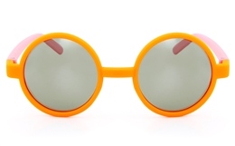 Vista Sport CH9 Polycarbonate(PC) Kids Full Rim Round Sunglasses for Party Bifocals