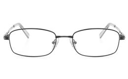 Vista First 2121 Titanium Memory Womens Full Rim Square Optical Glasses for Fashion,Classic,Nose Pads Bifocals