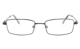Vista First 2115Titanium Memory Mens Full Rim Square Optical Glasses for Fashion,Classic,Nose Pads Bifocals