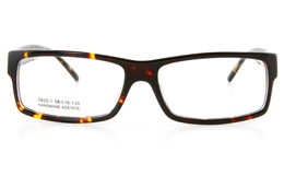 Vista First 0825-1 Acetate(ZYL) Mens Full Rim Optical Glasses - Square Frame for Fashion,Classic Bifocals