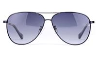 Vista Sport P1314 Stainless Steel Mens Oval Full Rim Sunglasses