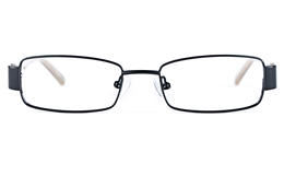 Vista Kids 5811 Stainless Steel/ZYL  Kids Square Full Rim Optical Glasses for Fashion,Classic,Nose Pads