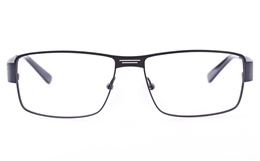 Vista First U3301 Stainless steel Mens Square Full Rim Optical Glasses for Fashion,Party,Sport,Nose Pads Bifocals