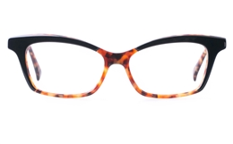 Vista First VS1002 Acetate(ZYL) Womens Cat eye Full Rim Optical Glasses for Fashion,Party Bifocals