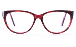 Vista First CL6020 Acetate(ZYL) Womens Cat eye Full Rim Optical Glasses for Fashion,Party Bifocals