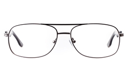 Vista First 1630 Stainless steel Mens Square Full Rim Optical Glasses for Fashion,Classic,Nose Pads Bifocals