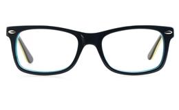 Vista Kids H1016 Acetate(ZYL) Kids Round Full Rim Optical Glasses for Classic,Party Bifocals