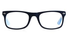 Vista Kids H1021 Acetate(ZYL) Kids Square Full Rim Optical Glasses for Classic,Party Bifocals
