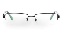9871 Monel Half Rim Mens Optical Glasses for Fashion,Classic,Party,Sport,Nose Pads Bifocals