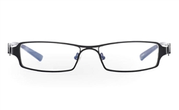 E1013 Stainless Steel Half Rim Mens Optical Glasses for Fashion,Classic,Party,Sport,Nose Pads