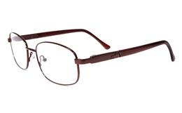 Poesia eso6603 Stainless Steel Mens&Womens Full Rim Optical Glasses