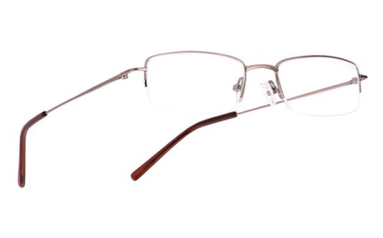 Vista First 1016 Stainless Steel/ZYL Mens&Womens Half Rim Optical Glasses