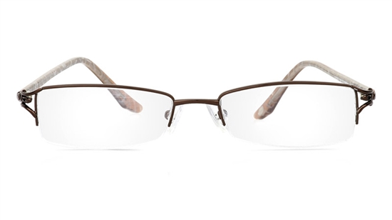 Vista First 1807 Stainless Steel/ZYL Mens&Womens Semi-rimless Optical Glasses