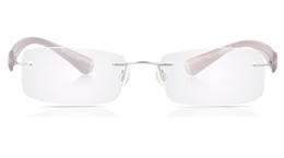 Vista First 5013 Stainless Steel Mens Womens None Optical Glasses for Sport,Nose Pads Bifocals